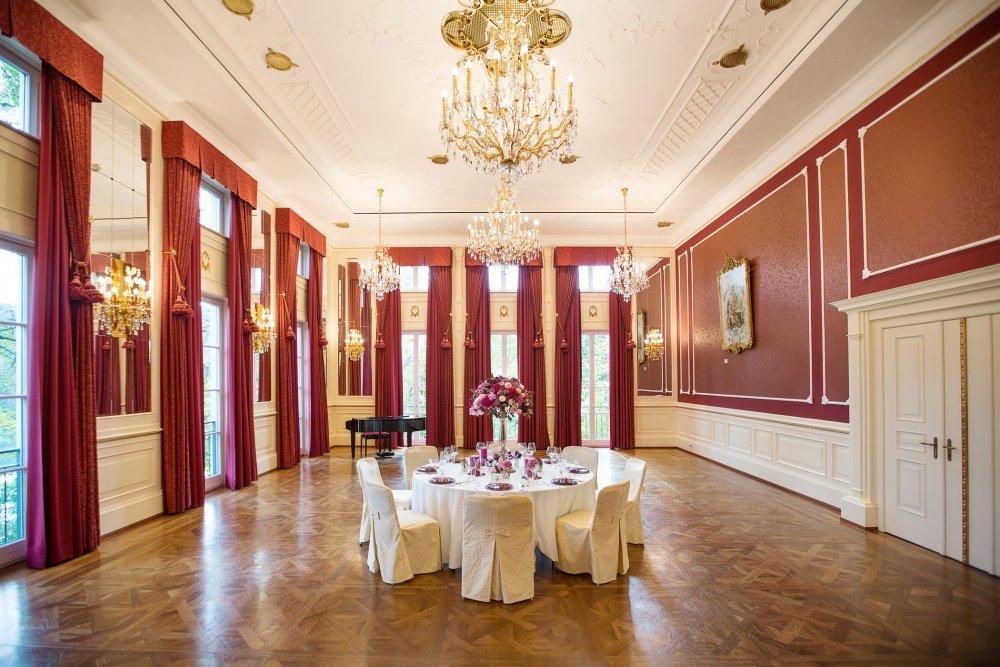 Lake Wedding Salzburg Austria Schloss Fuschl intimate wedding