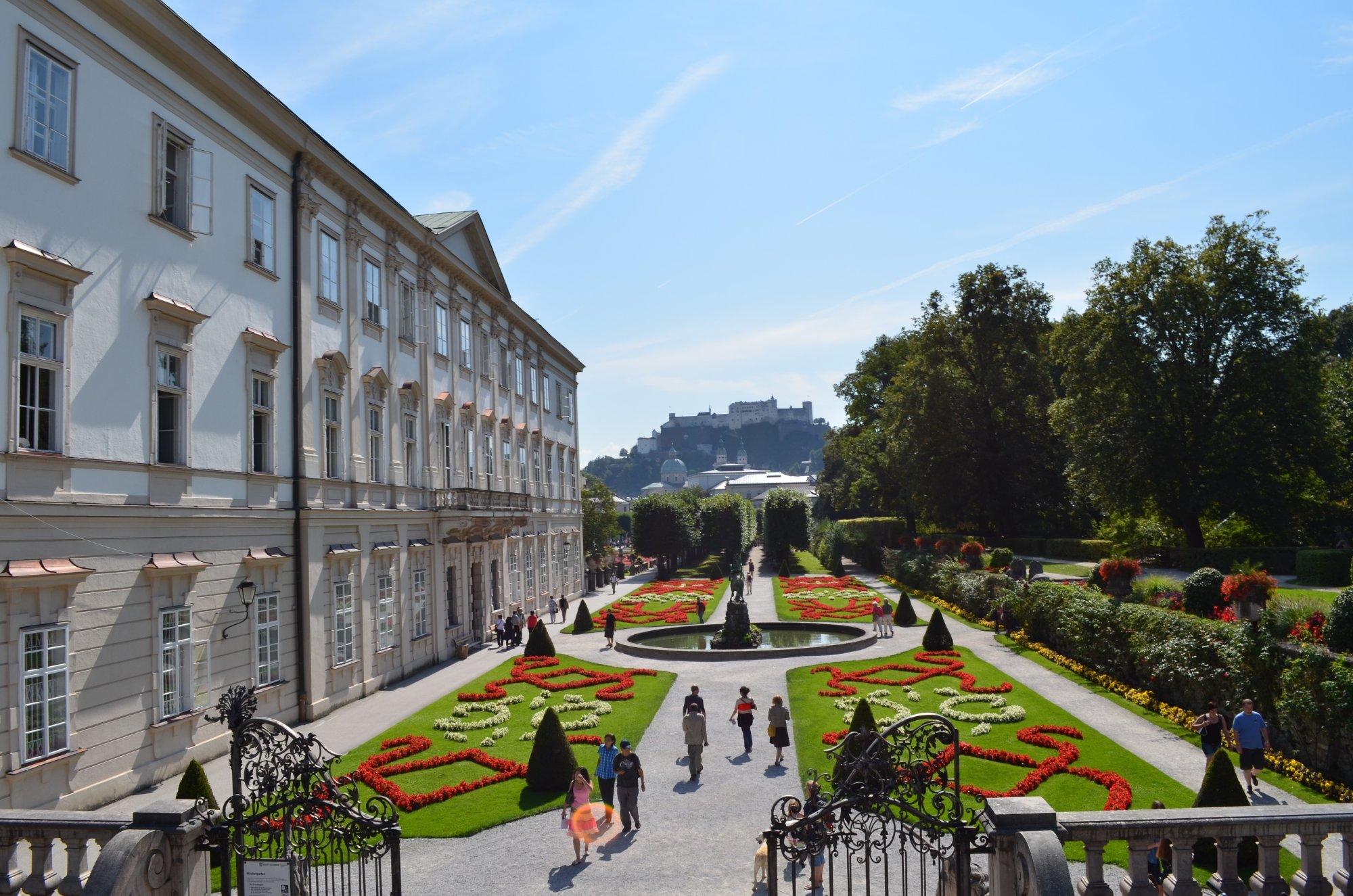 Wedding Venues Austria Mirabell Gardens Salzburg